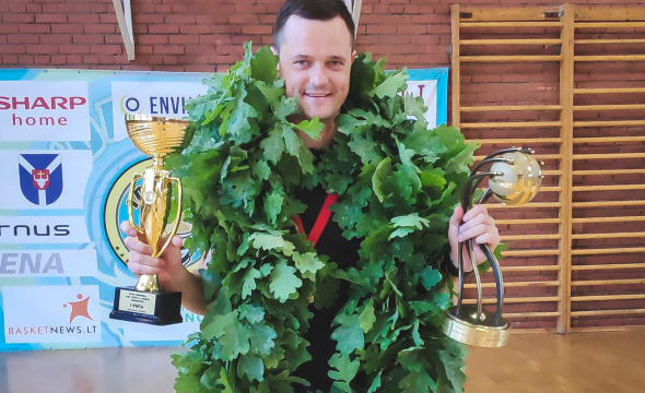 Aivaras Grigaliūnas: čempionų titulas toks jau dalykas, pasidžiaugi vieną dieną ir eini toliau sunkiai dirbti