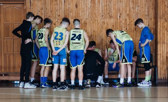 MKL U17 ir U16 B divizione žaidžiančių komandų apžvalga